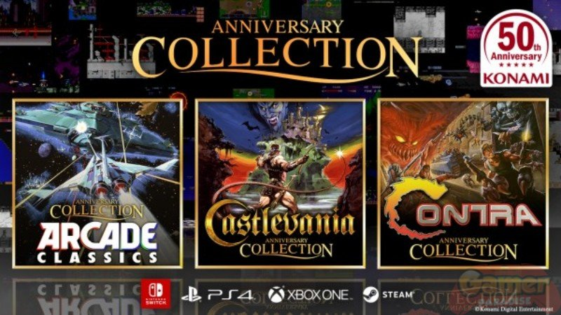 KONAMI enthüllt vollständiges Line-up & Termin der Castlevania Anniversary Collection